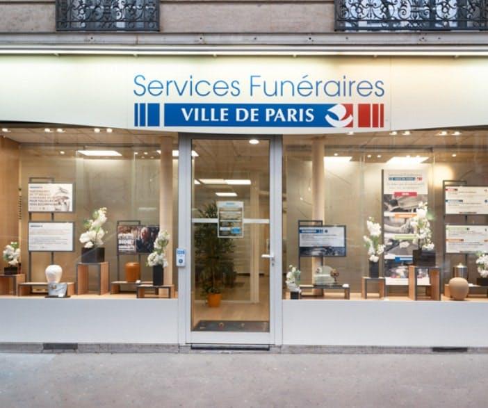 Photographies Des Services Funéraires Ville de Paris à Paris