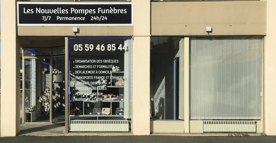 Photographie Les Nouvelles Pompes Funèbres de Bayonne