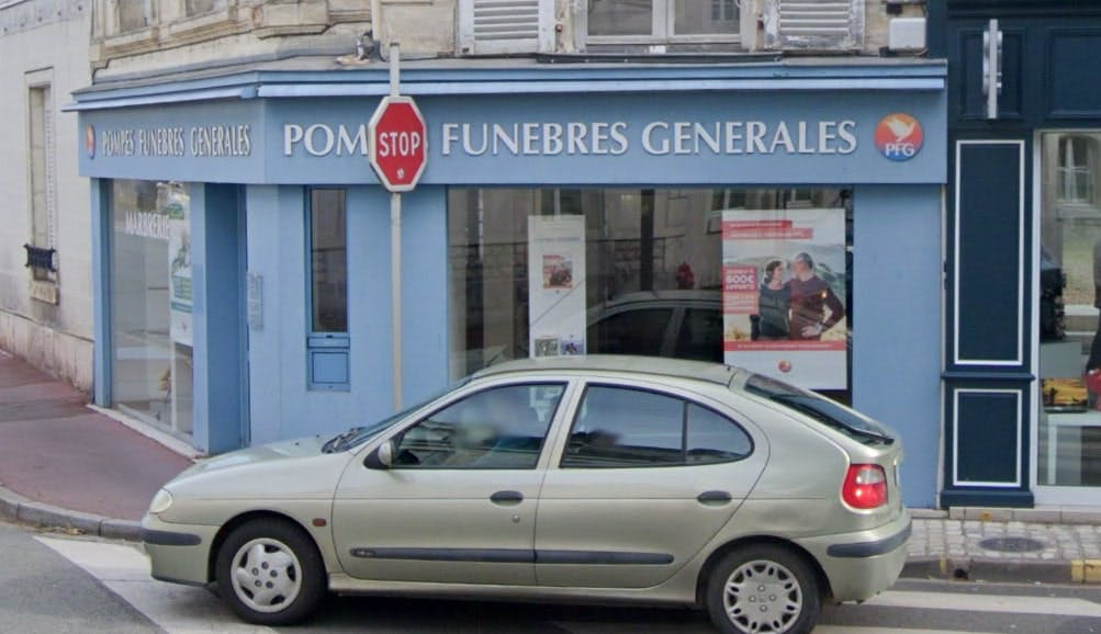 Photographies des Pompes Funèbres Générales à Vendôme