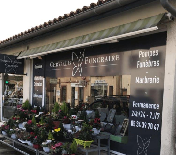 Photographie CHRYSALIS Funéraire de Villeneuve-Tolosane