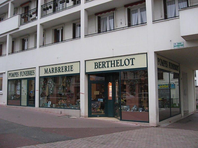 Photographie Pompes Funèbres et Marbrerie Berthelot Vernon
