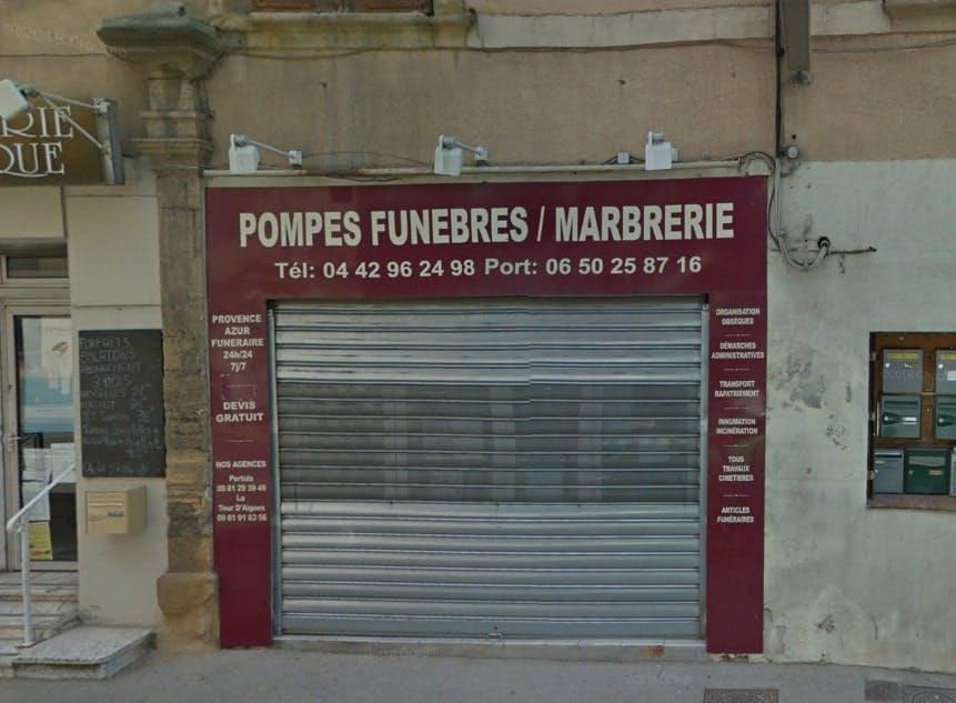 Photographies des Provence Azur Funéraire à Peyrolles-en-Provence