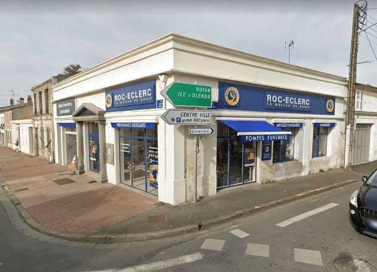 Photographie de la Pompes Funèbres ROC ECLERC à La Rochefort