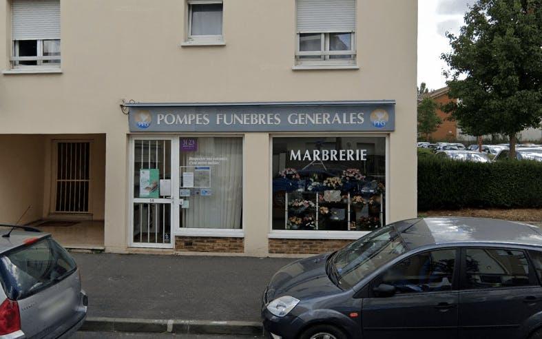 Photographie de la Pompes Funèbres Générales à Villeparisis