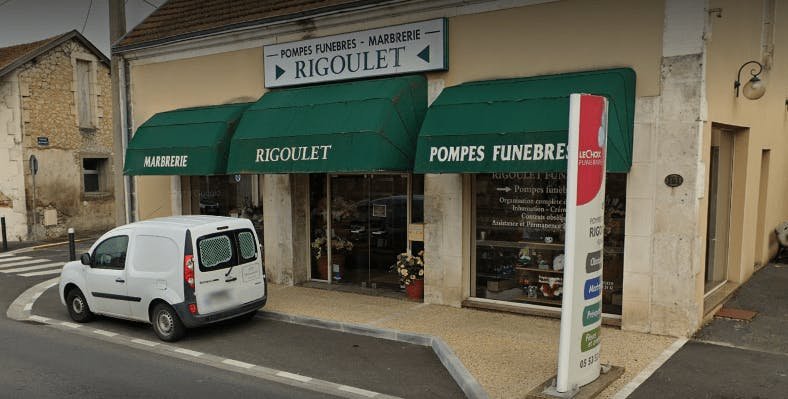 Photographie Pompes Funèbres Rigoulet de Marsac-sur-l'Isle
