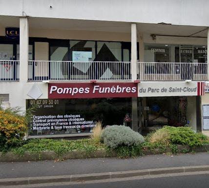 Photographie Pompes Funèbres du Parc de Saint Cloud Ville-d'Avray