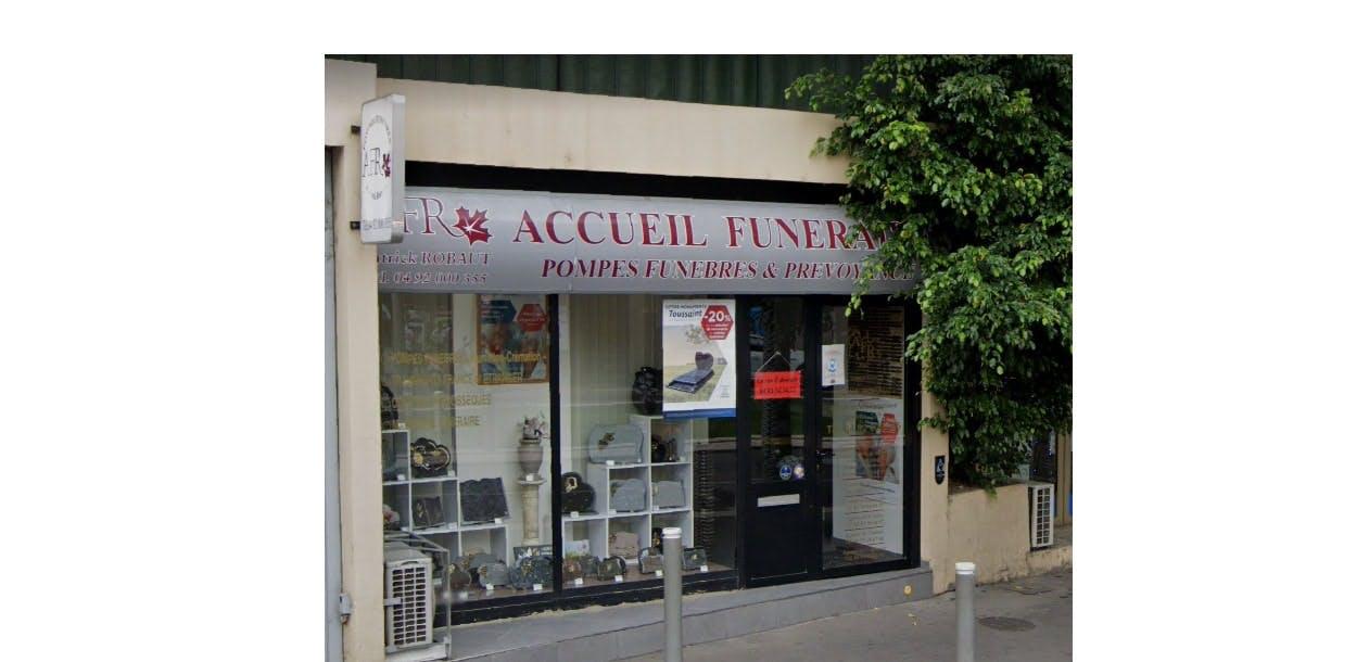 Photographie de l'Acceuil Funéraire Robaut