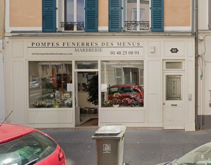 Photographies des Pompes Funèbres des Menus à Boulogne-Billancourt