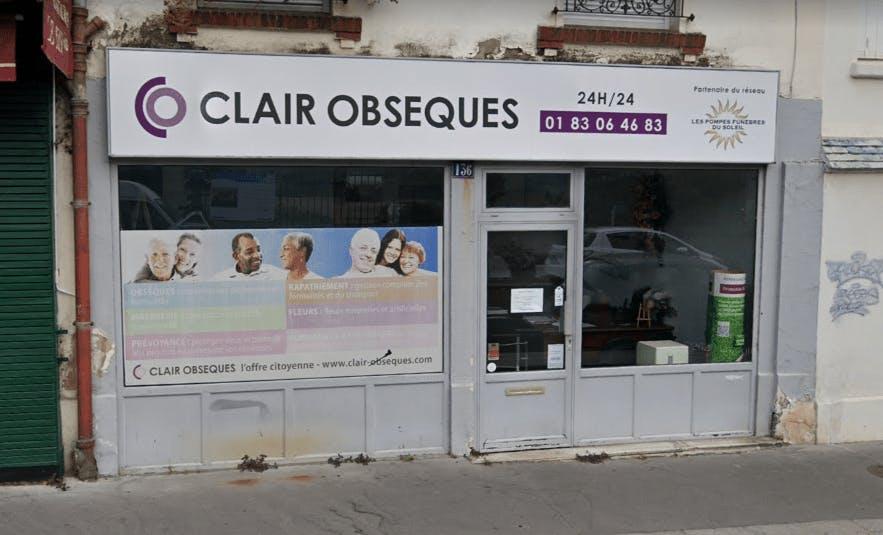 Photographie de la Pompes Funèbres Clair Obsèques à Paris