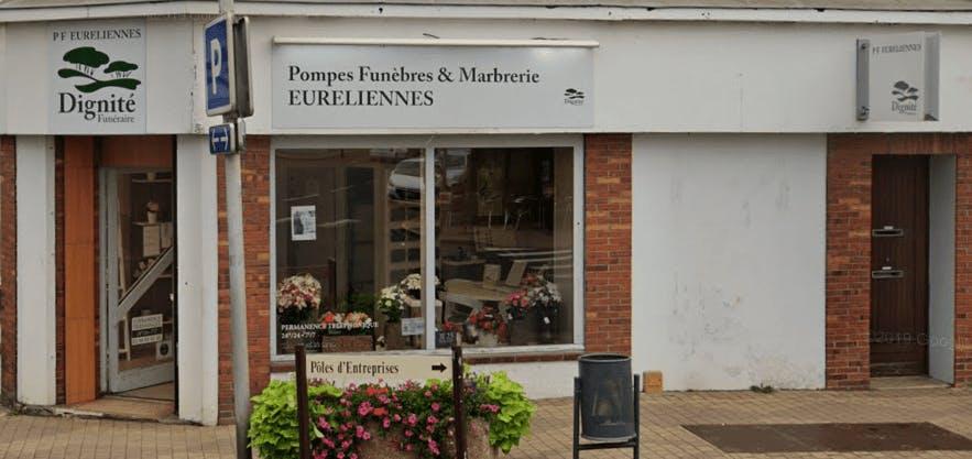 Photographie de Pompes Funèbres et Marbrerie Euréliennes de Châteauneuf-en-Thymerais