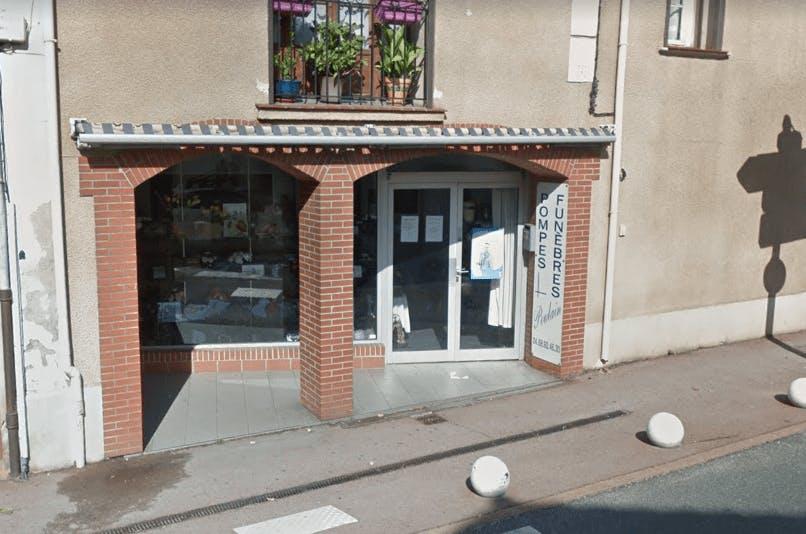 Photographie de la Pompes Funèbres Poulain au Soler