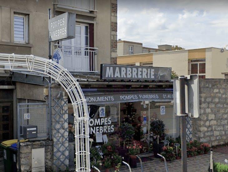 Photographie de la Pompes Funèbres Maurel à Bourg-la-Reine