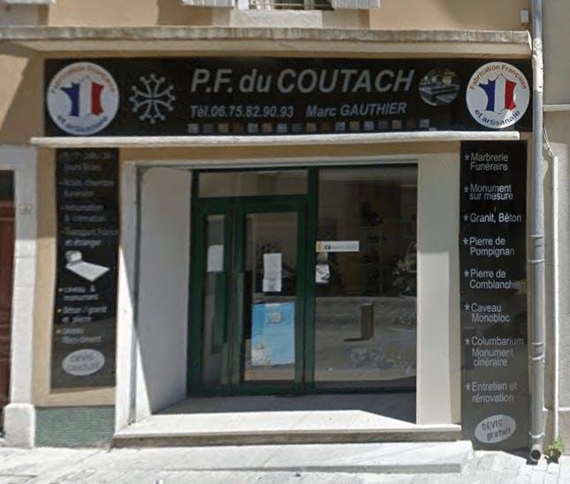 Photographie de la Pompes Funèbres Du COUTACH de Quissac