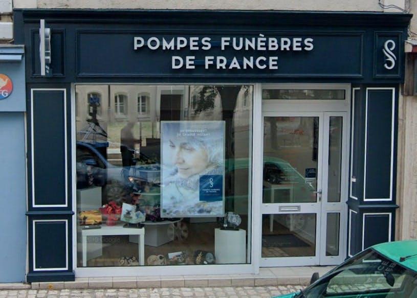Photographies des Pompes Funèbres de France à Vendôme