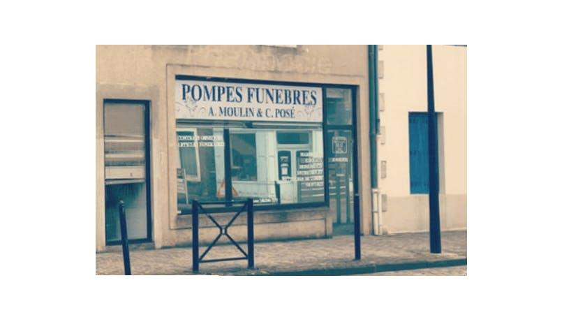 Photographie de la Pompes Funèbres Moulin-Posé à Châteaumeillant