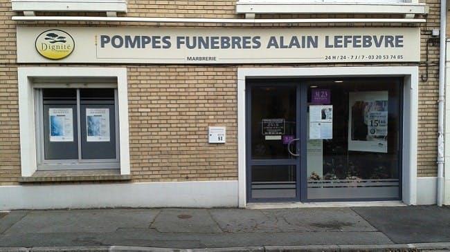 Photographies des Pompes Funèbres Marbrerie Alain Lefebvre à Faches-Thumesnil