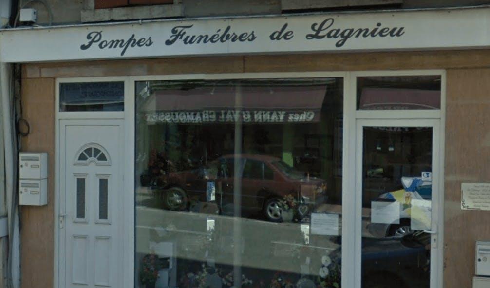 Photographie de la Marbrerie Pompes Funèbres de Lagnieu de la ville de Lagnieu