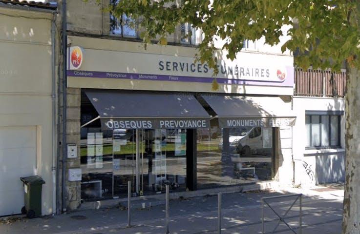 Photographie de la Pompes Funèbres Générales à Cenon