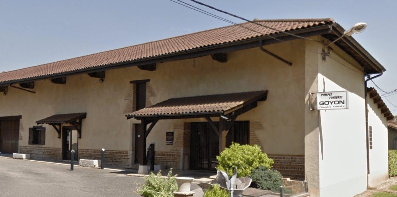Photographie de La Maison des Obsèques Pompes Funèbres Lefèvre-Goyon & associés de la ville de Vonnas