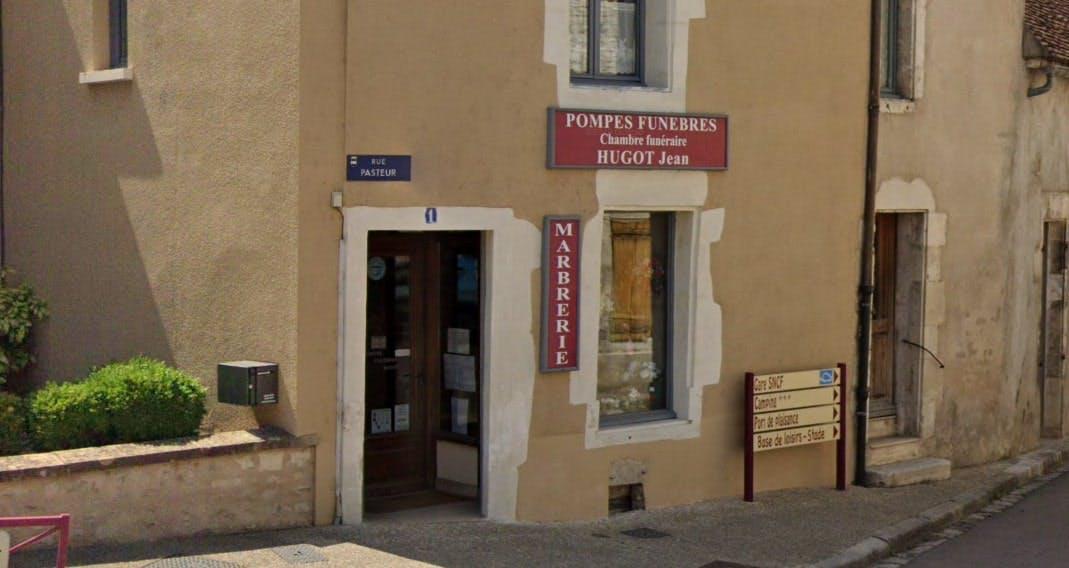 Photographies des Pompes Funèbres Marbrerie Hugot Jean à Vermenton
