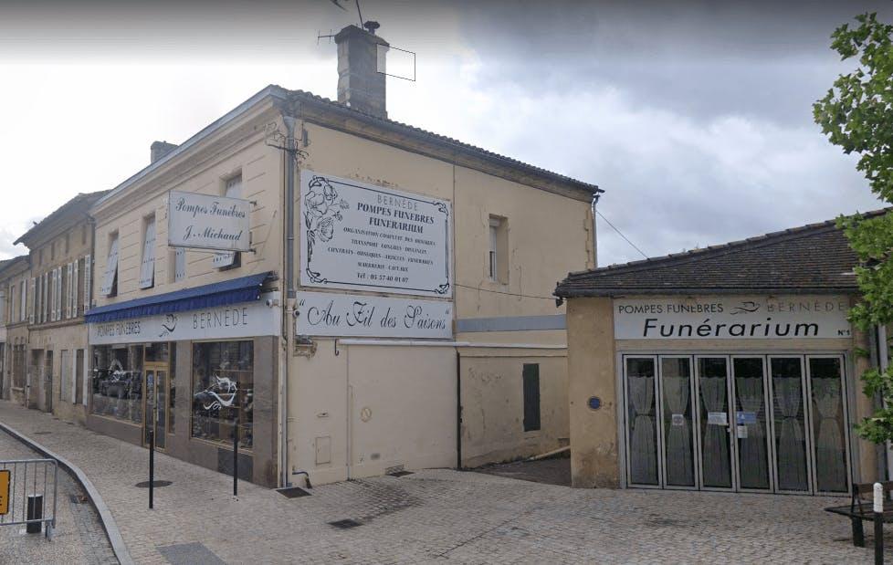 Photographie de Pompes Funèbres BERNEDE de la ville de Castillon-la-Bataille