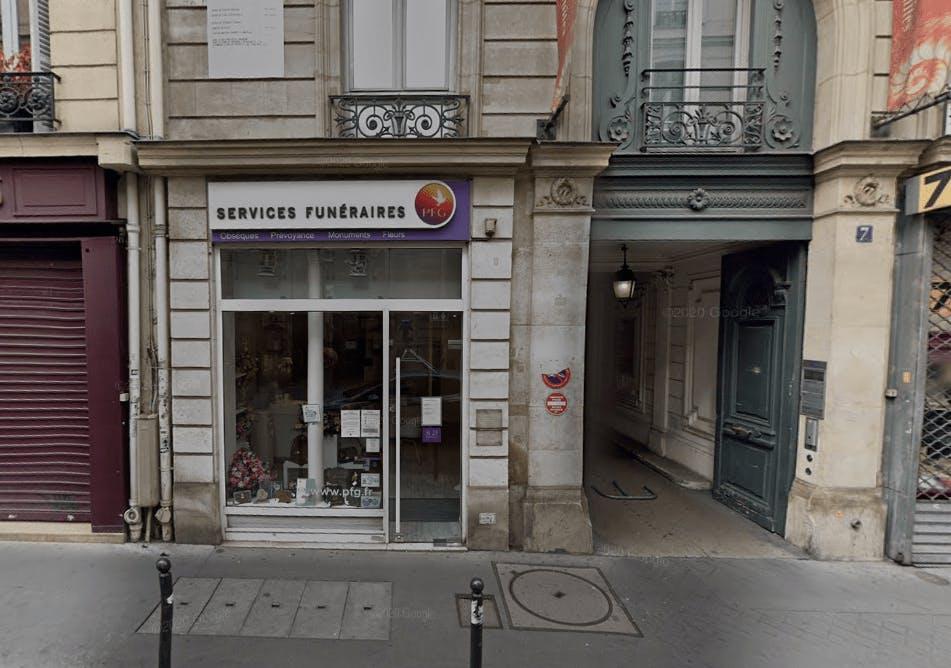 Photographie Pompes Funèbres Générales à Paris