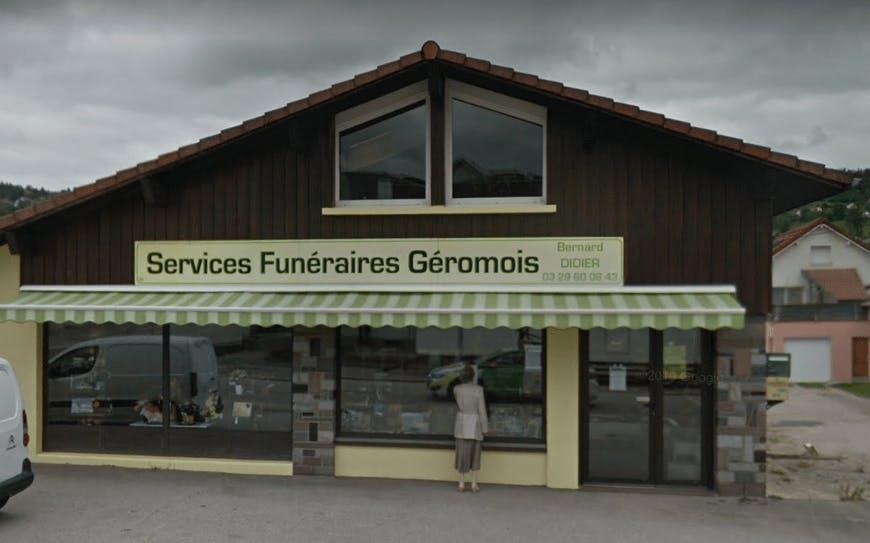 Photographie Services Funéraires Géromois Bernard DIDIER de Gérardmer