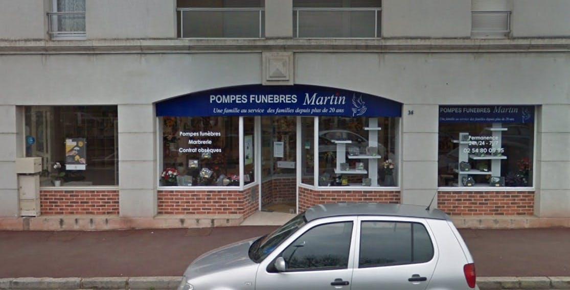 Photographies des Pompes Funèbres Martin à Vendôme