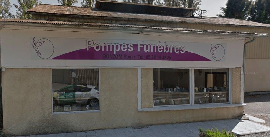 Photographie de Pompes Funèbres Bonzom de la ville de Moulis