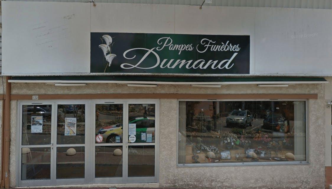 Photographie de la Pompes Funèbres Dumand de la ville de Hagetmau