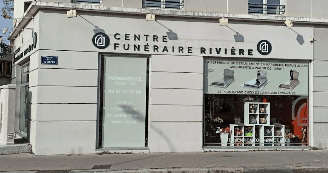 Photographie du Centre funéraire Rivière à Lyon