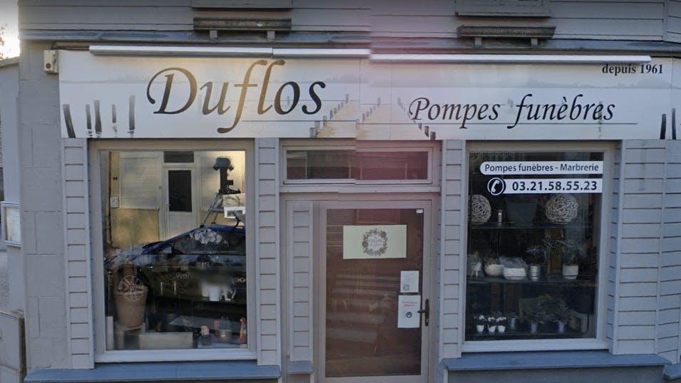 Photographie de la Pompes Funèbres et Marbrerie Duflos de la ville d'Avesnes-le-Comte