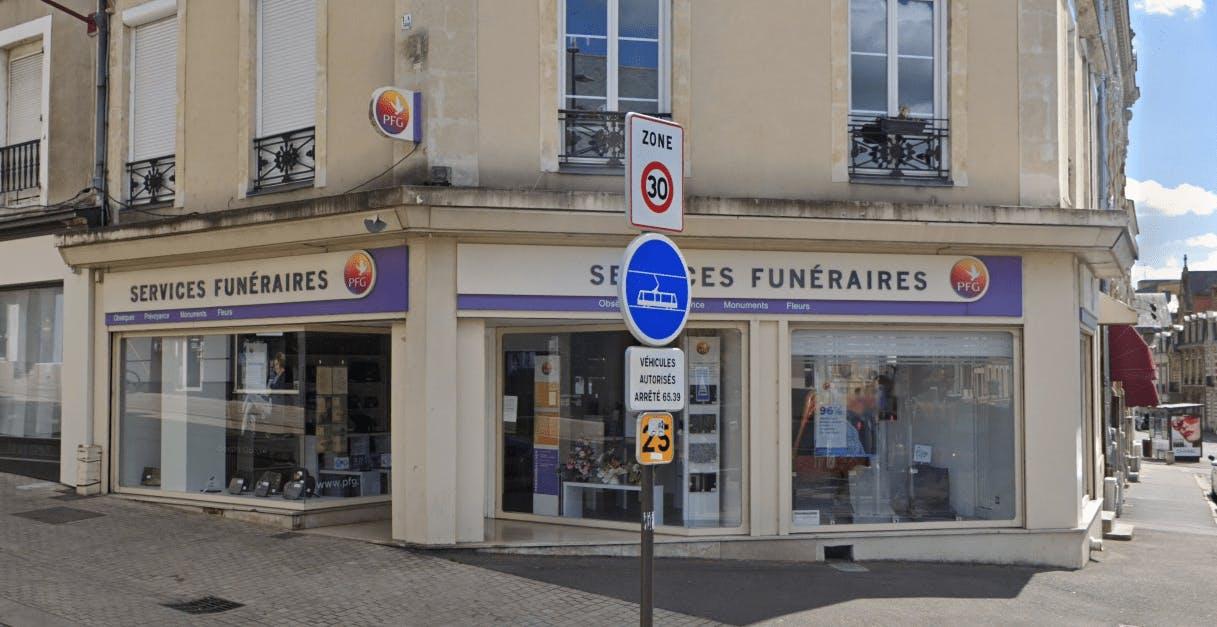 Photographie Pompes Funèbres Générales au Mans