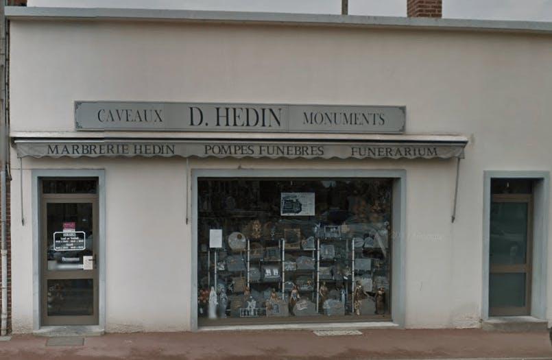 Photographie de la Pompes Funèbres Marbrerie Hedin de la ville de Montdidier