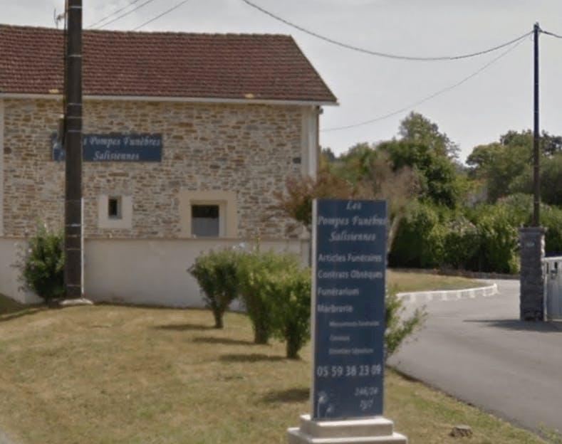 Photographie Pompes Funèbres Salisiennes de Salies-de-Béarn