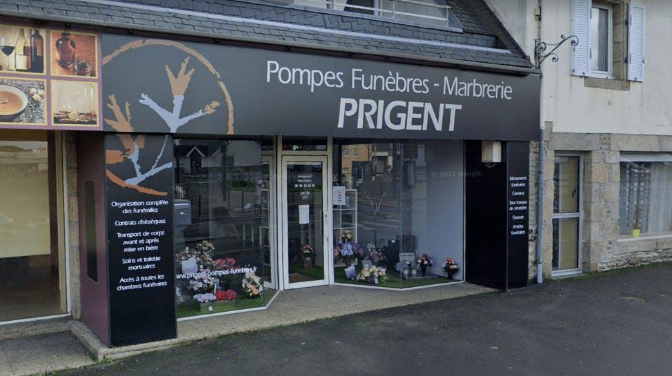 Photographie de la Pompes Funèbres et Marbrerie Prigent à Plabennec