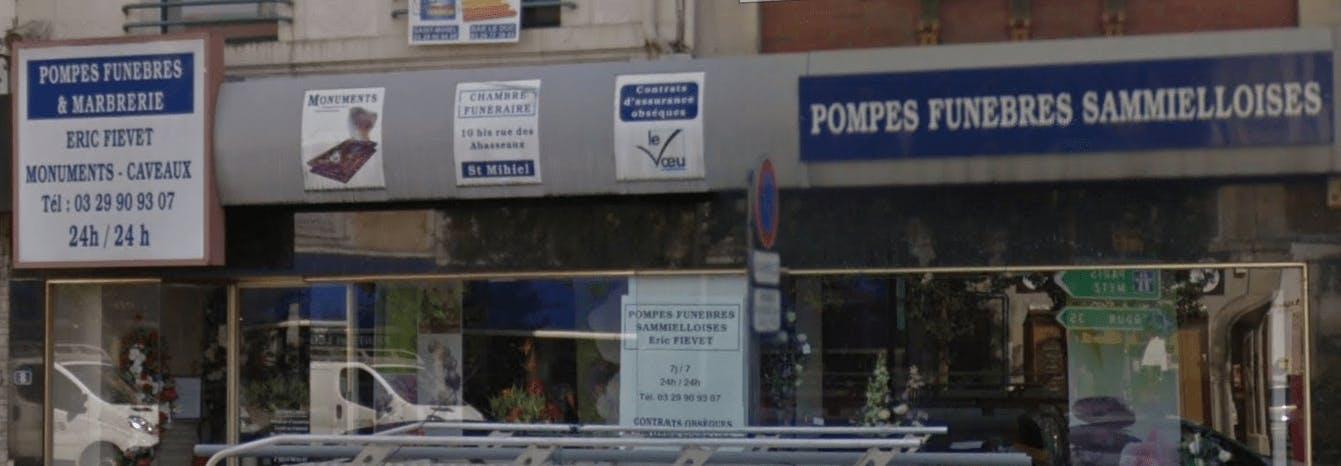 Photographie de la Pompes Funèbres Sammielloises - Le Choix Funéraire de la ville de Saint-Mihiel