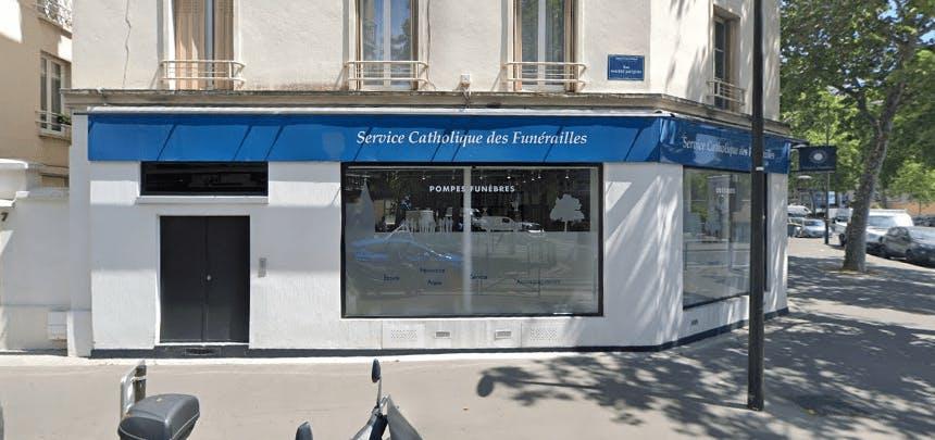 Photographie du Service Catholique des Funérailles à Boulogne-Billancourt