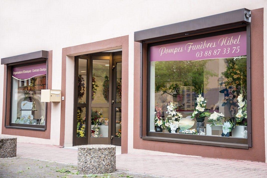 Photographies des Pompes Funèbres Nibel à Obernai