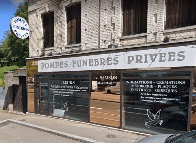 Photographie Pompes Funèbres Privées Samson Vacandare de Rouen