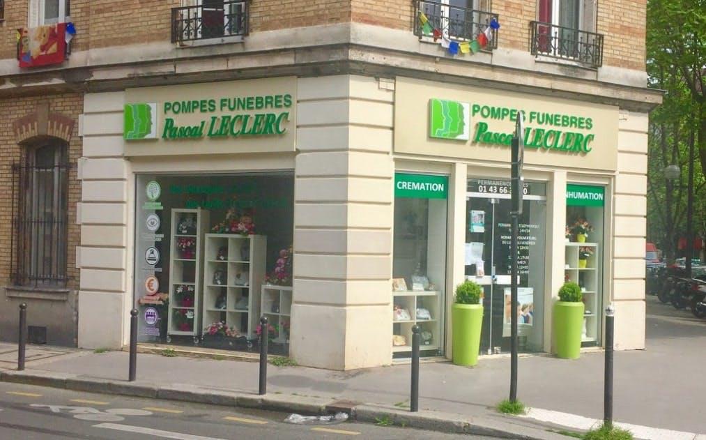Photographie des Pompes Funèbres Pascal Leclerc à Paris
