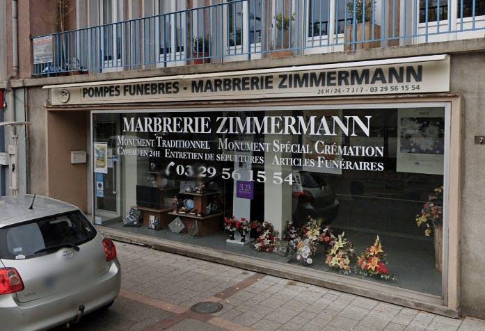 Photographie Pompes Funèbres et Marbrerie Zimmermann de Saint-Dié-des-Vosges