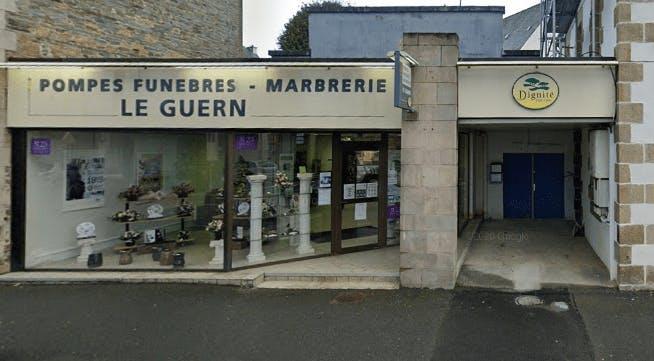 Photographie Pompes Funèbres LE GUERN et Marbrerie du TREGOR Lannion