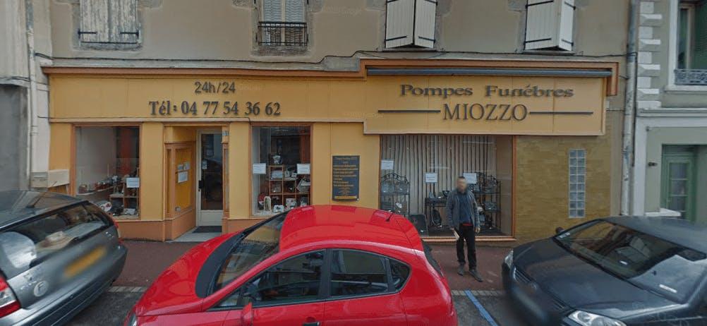 Photographie de la Pompes Funèbres Miozzo à Chazelles-sur-Lyon