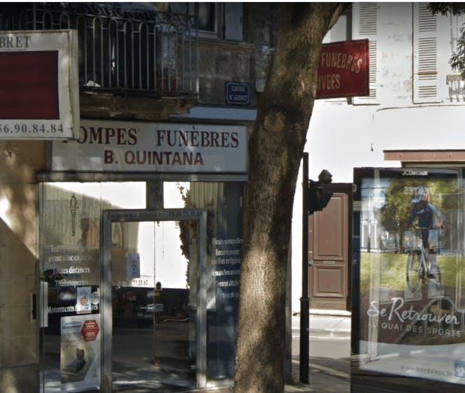 Photographie de la Pompes Funèbre Quintana à Le Bordeaux