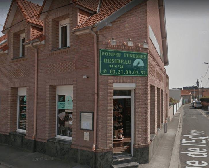 Photographie de la Pompes Funèbres et Marbrerie RESIBEAU à Berck