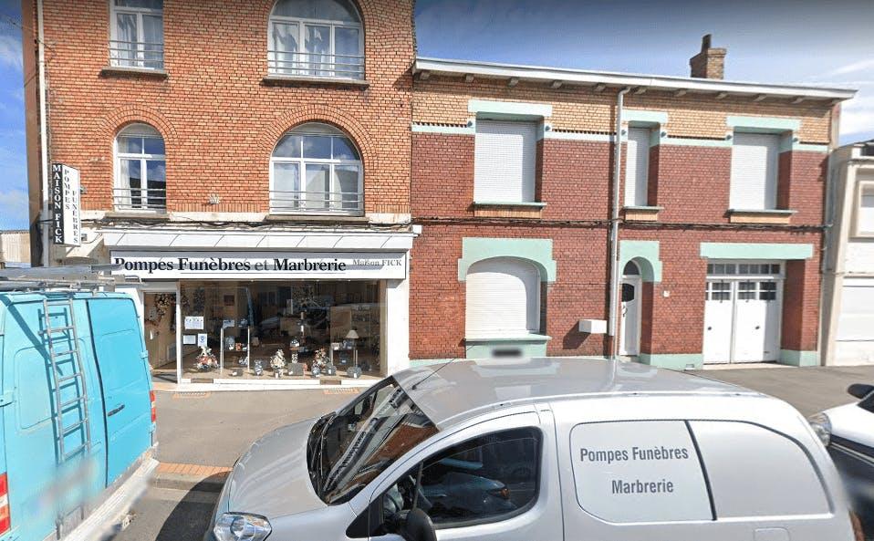Photographie Pompes Funèbres et Marbrerie Maison Fick de Coudekerque-Branche