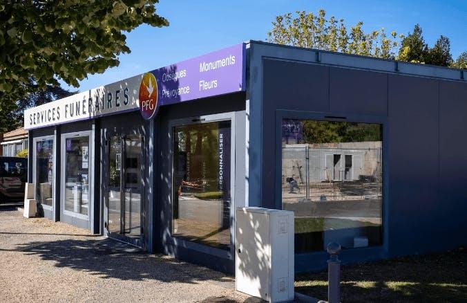 Photographie de la Pompes Funèbres Générales à Carpentras