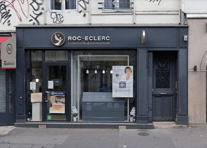 Photographie de la Pompes Funèbres ROC ECLERC à Paris