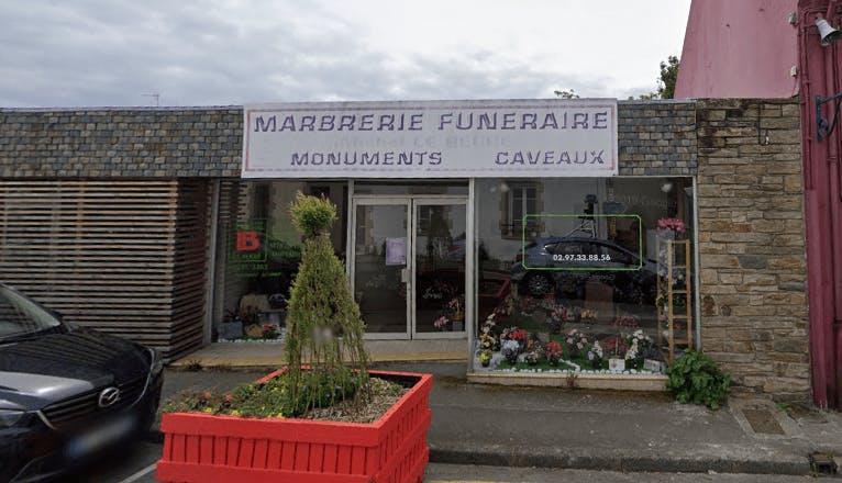 Photographie Marbrerie Funéraire Le Berre Michel de Locmiquélic